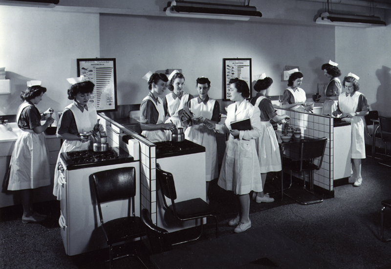 From The Archives School Of Nursing Circa 1945 Rush