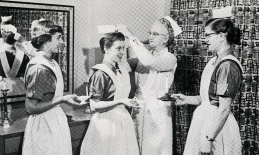 Presbyterian Hospital School of Nursing capping, 1956