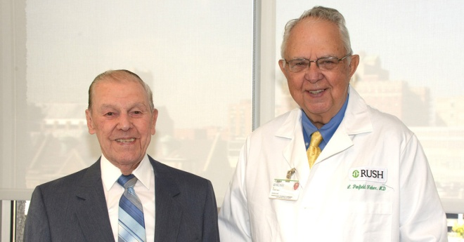 Norman Prestine and Penfield Faber, MD