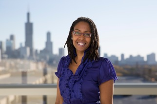 Fawn A. Cothran, PhD, RN, assistant professor, Adult Health and Gerontological Nursing, Rush University College of Nursing. Cothran is working to help black caregivers for people with dementia. She is developing culturally tailored interventions to promote these caregivers' physical and mental health, and in turn to improve quality of care for people with dementia.